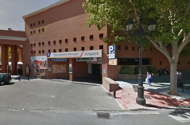 Parking in Marbella - Aparcamiento del Mercado Municipal de Marbella, Empark