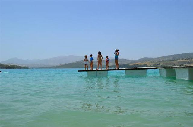 Piscines naturelles d'Andalousie - Embalse de los Bermejales