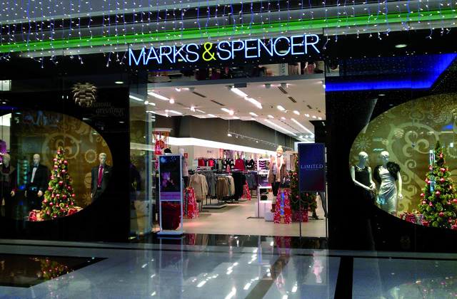 Marbella shopping - Mark & Spencer