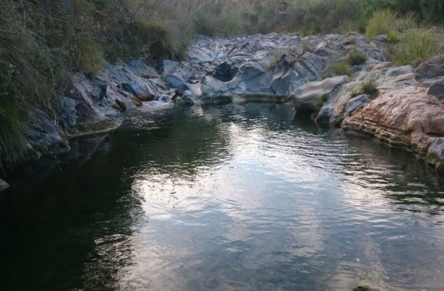 Natural pools of Andalucia - La Poza de los Huevos