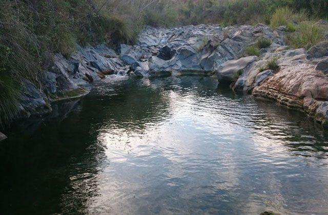 Piscinas naturales de Andalucia - La Poza de los Huevos