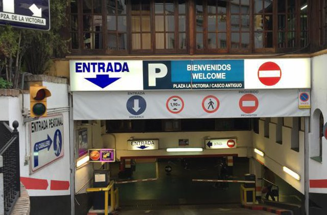 Parking in Marbella - Parking Plaza de la Victoria