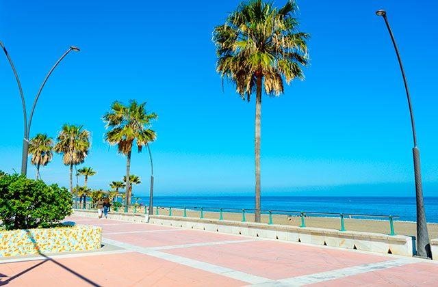 Strände in Andalusien - Playa de la Rada Estepona