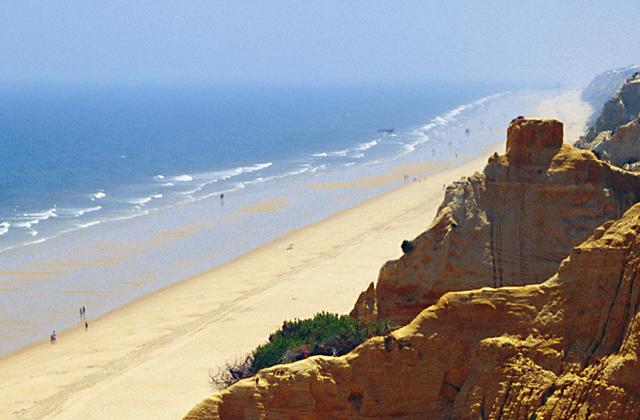 Costa de la Luz plages - Playa de la Cuesta Maneli - Huelva