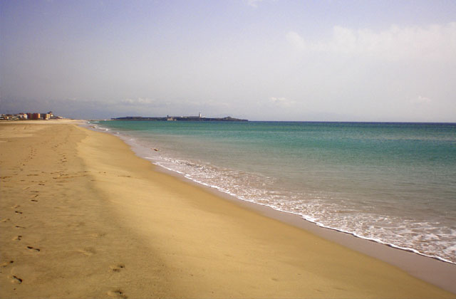 Costa de la Luz beaches - Los Lances