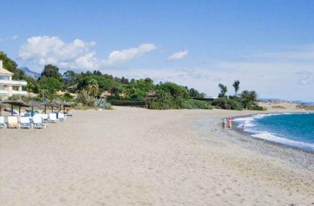Playas en Estepona - Playa de Guadalmansa