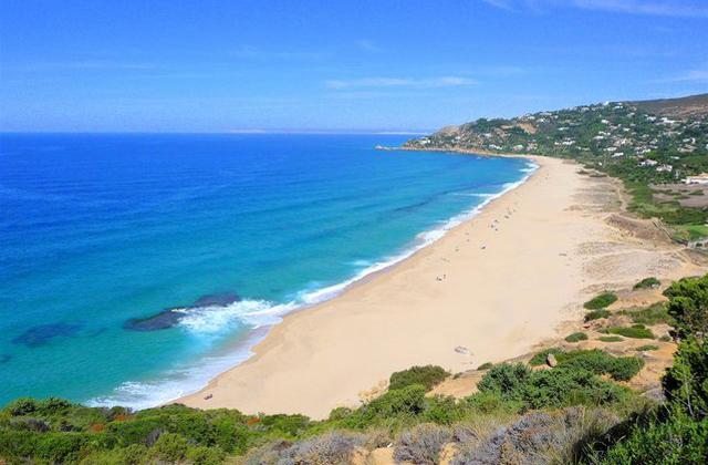 Costa de la Luz plages - Playa de los Alemanes - Cadix