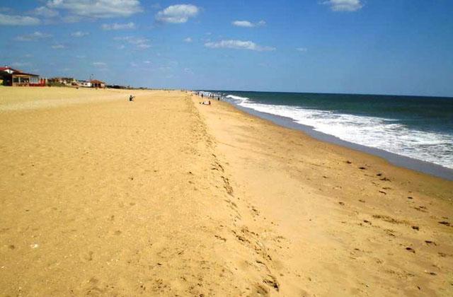Costa de la Luz plages - Playa de la Bota o del Cruce - Huelva