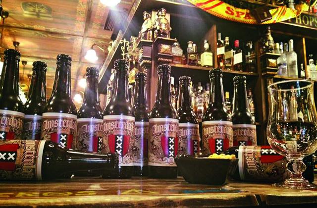 Craft beer Malaga - Amsterdam Café