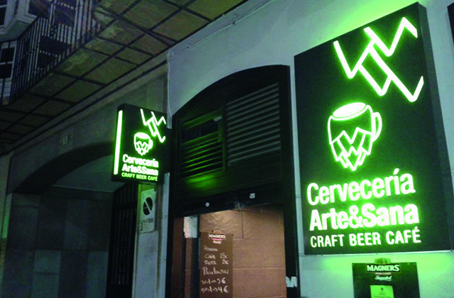 Craft beer Malaga - Arte Sana