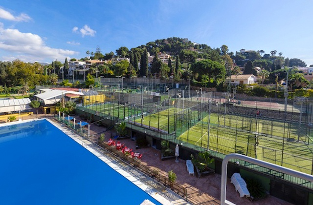 Paddle-Tennis platz Costa del Sol - Club El Candado