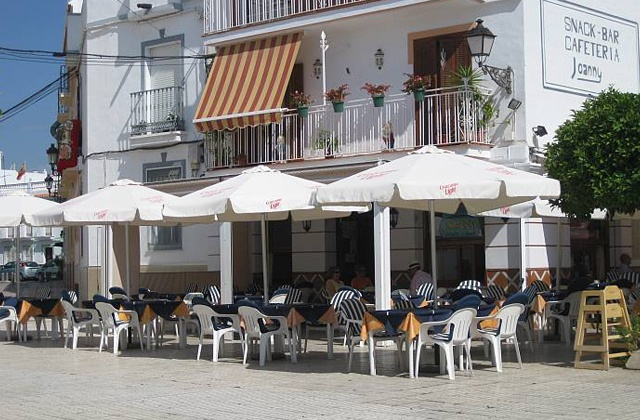 Nerja restaurants et bars à tapas - Cafeteria Joanny