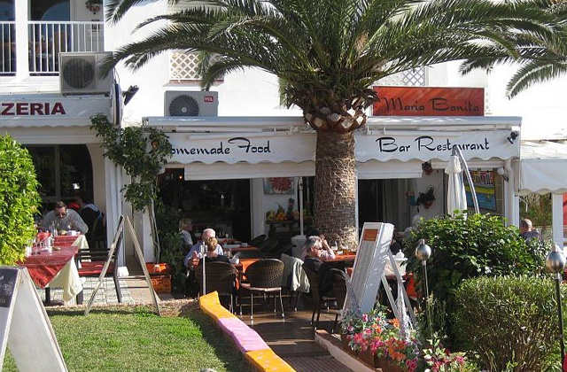 Nerja restaurants et bars à tapas - Maria Bonita