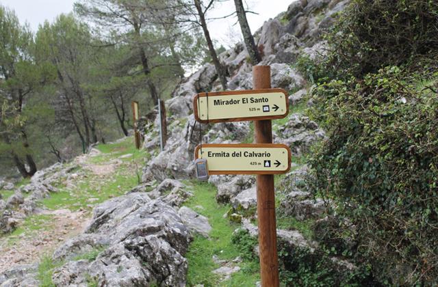 Sierra de Grazalema wanderwege - LA ERMITA DEL CALVARIO Y EL SANTO