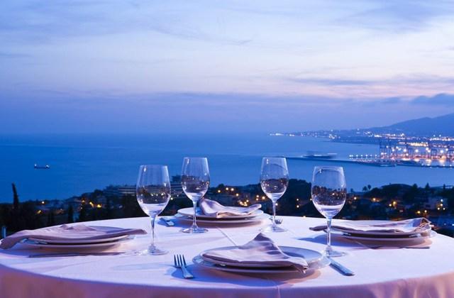 Restaurantes con vistas de Andalucía - Refectorium El Campanario, Málaga