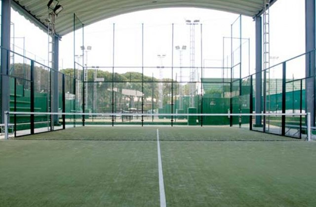 Paddle-Tennis platz Costa de la Luz - pista Hermosa Club de Golf