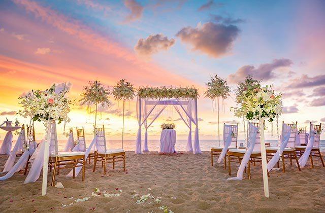 A wedding on the beaches of Huelva