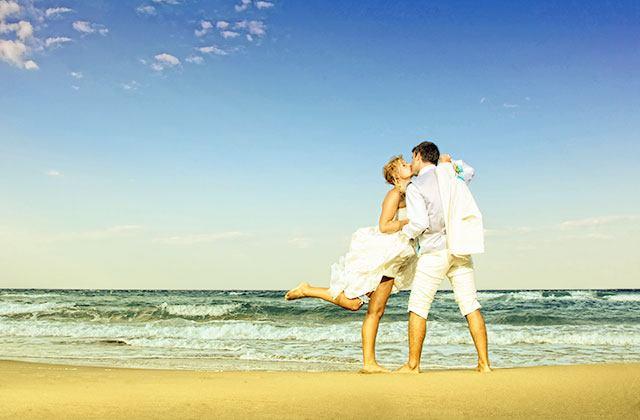 A wedding on the beaches of Malaga