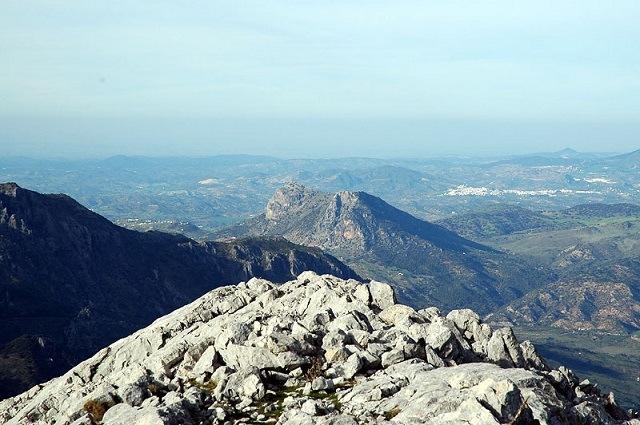 Rutas de senderismo en Grazalema - SIERRA DEL ENDRINAL - SUBIDA AL SIMANCÓN Y RELOJ