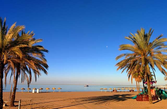 Playas de Marbella - Playa de la Bajadilla