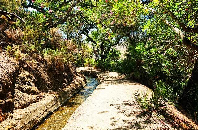 Ruta de senderismo - Acequia del Guadalmina