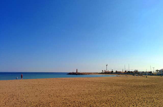 Playas de Marbella - Playa de Puerto Banus