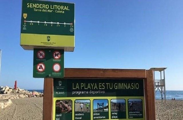 Rutas de senderismo en Málaga - Torre del Mar-La Caleta de Vélez