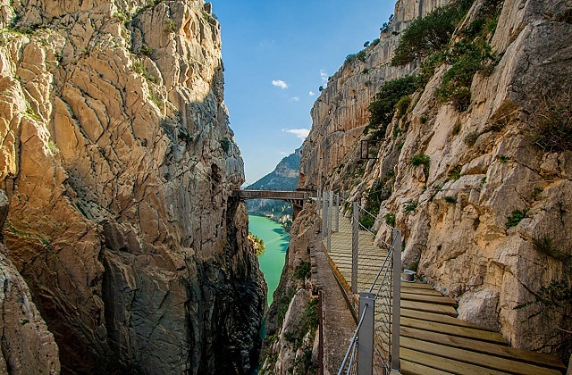 Rutas de senderismo en Andalucia - Caminito del Rey