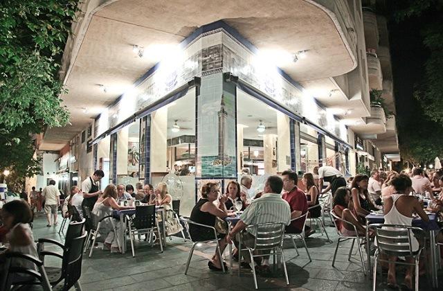 Donde Comer paellas en Málaga -La Lonja