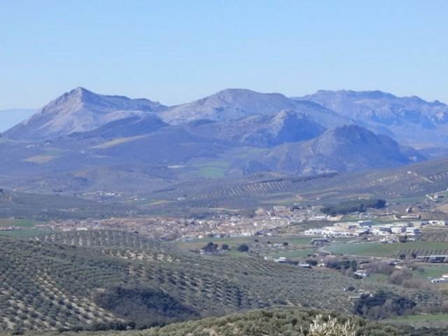 Panoramen von Andalusien - Mirador alto