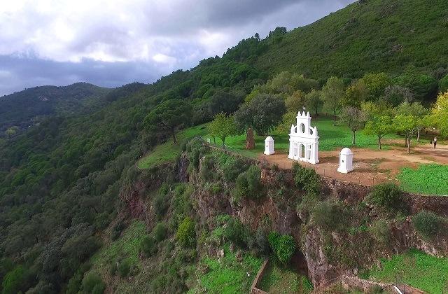 Panoramen von Andalusien - Peña de Arias Montano