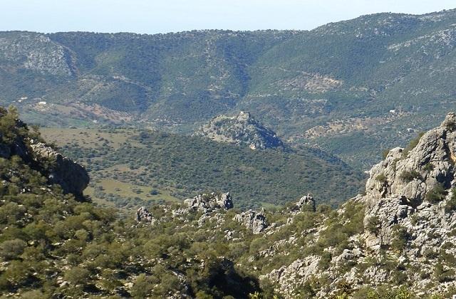 Panoramen von Andalusien - Salto del Cabrero