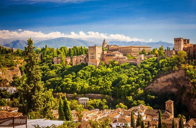 Choses à voir et à faire en Andalousie - Alhambra Granada