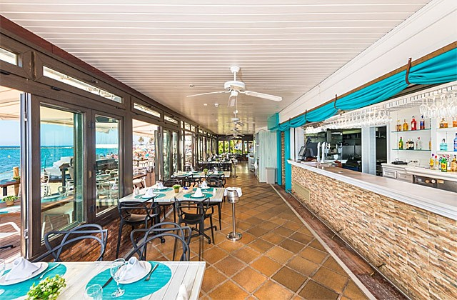 donde comer paella en marbella beach club restaurante grill