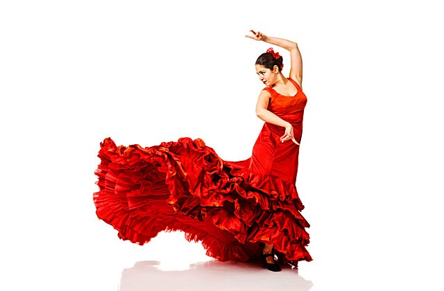 Andalusien im Winter - flamenco