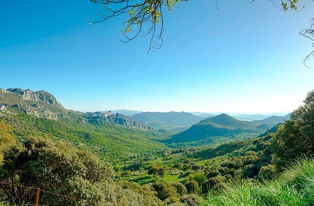 Die besten Panoramen von Andalusien Mirador Puerto del Boyar, Sierra de Grazalema (Cádiz)
