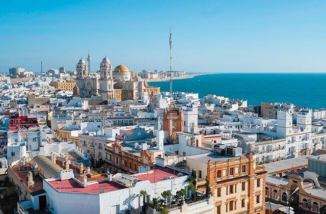 Die besten Panoramen von Andalusien Torre Tavira (Cádiz)