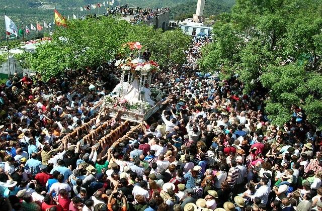 fêtes en Andalousie - Virgen de la Cabeza