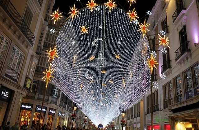 Andalusien Weihnachtstraditionen - Calle Larios