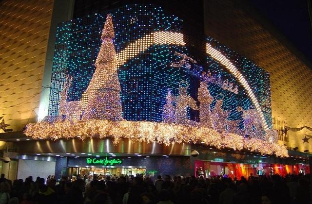 christmas shoppint in Malaga - Corte Inglés
