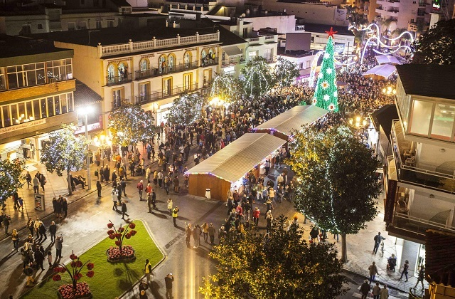 Christmas markets in Malaga - Torremolinos
