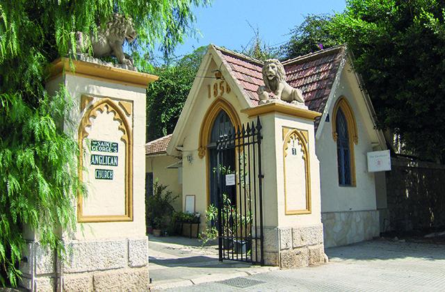 Curiosités de Malaga - Cimetière anglais