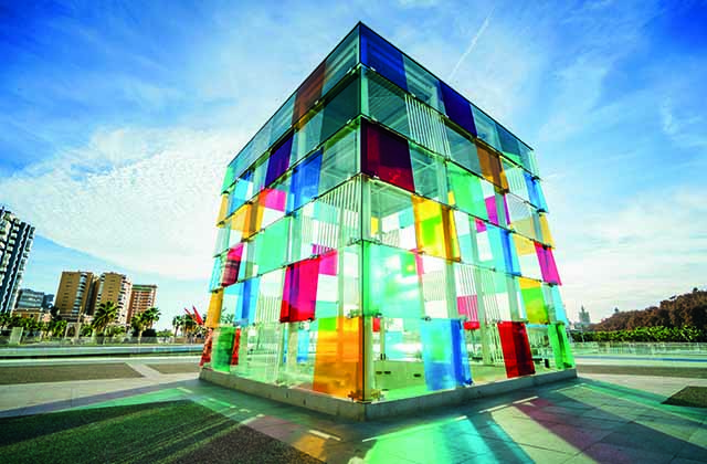 Malaga facts - Pompidou