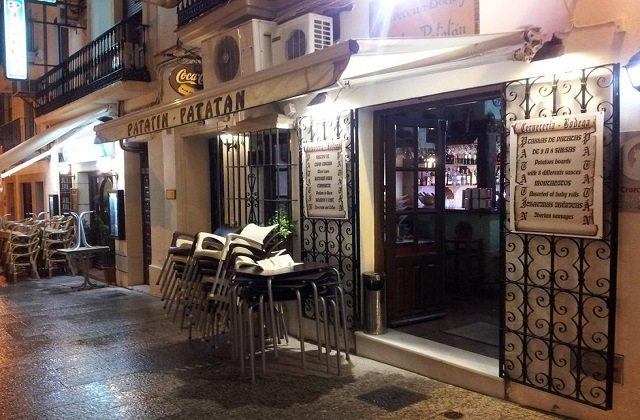 Restaurants und Bars zum Tapas-Essen in Ronda - Bar Patatin Patatan