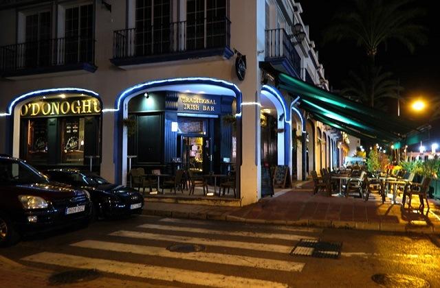 La vie nocturne à Estepona - Pub O'Donoghue's