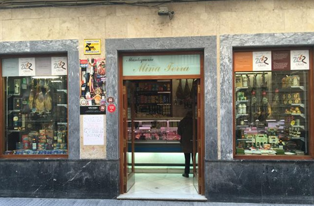 Cadiz Einkaufen - Mantequería Miña Terra