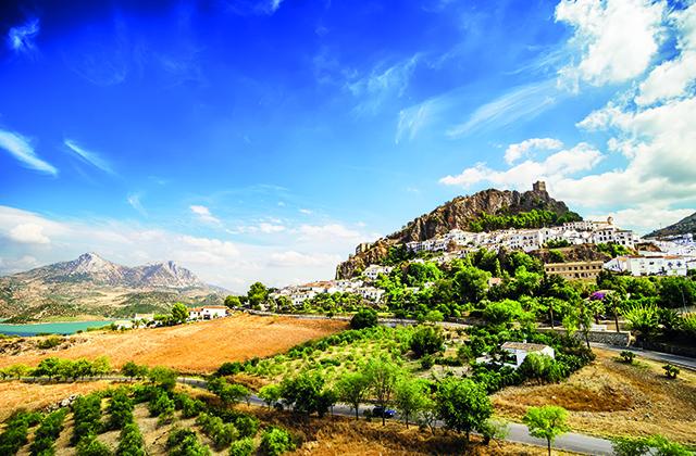 villages de l'Andalousie - Zahara de la Sierra, Cadiz