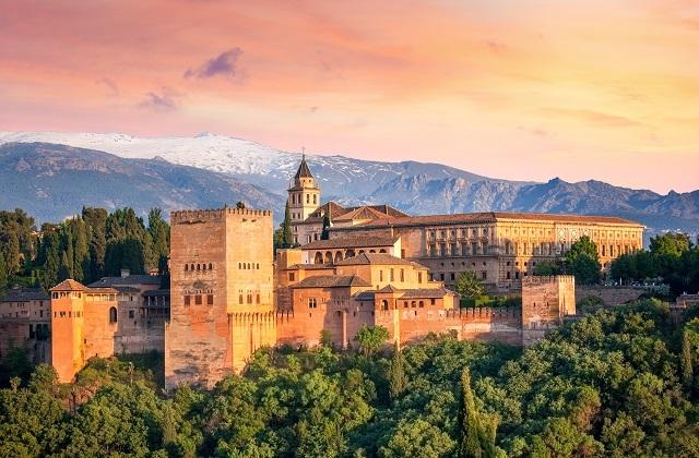 Sunsets in Andalucia - mirador san nicolas granada