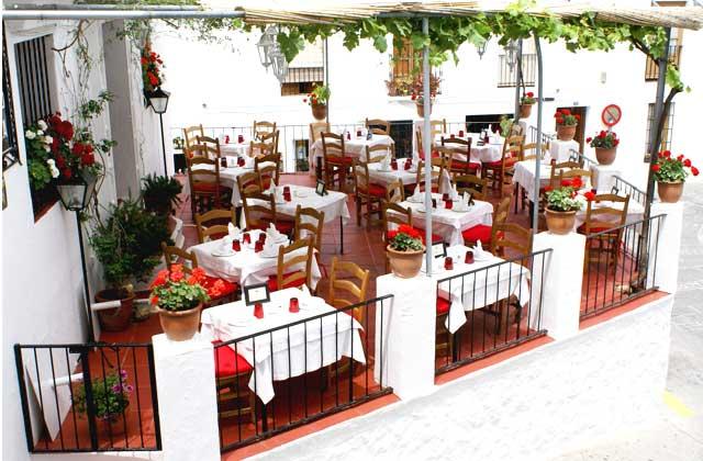 Mijas Pueblo - Restaurante El Mirlo Blanco