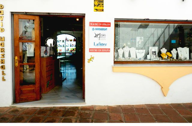 Mijas Pueblo - shop David Marshall